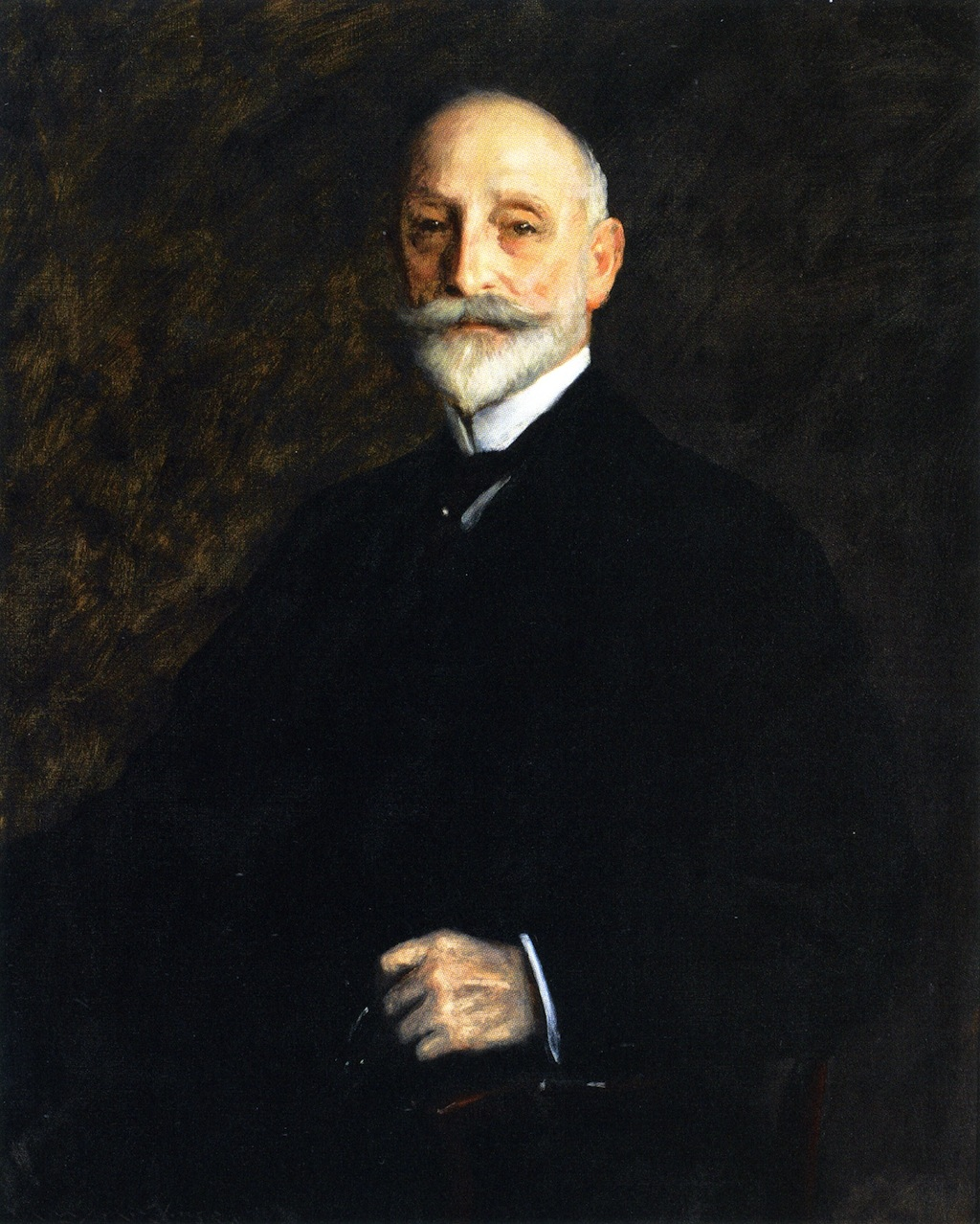 August B. Loeb, Esq by William Merritt Chase, 1905