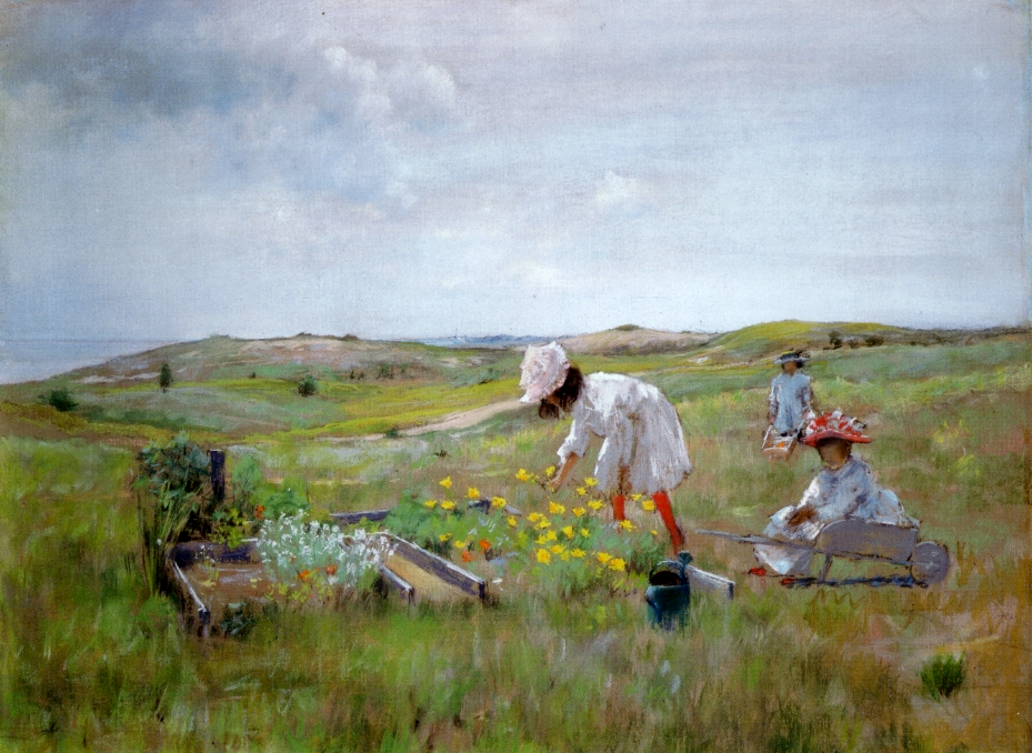 The Little Garden by William Merritt Chase, 1895
