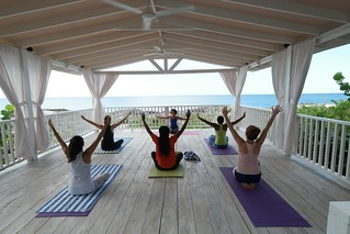 Outdoor Yoga at The Cliff