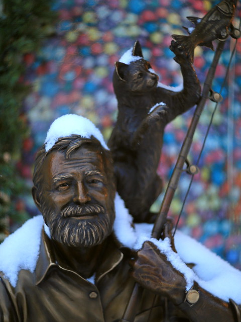 Hemingway in winter