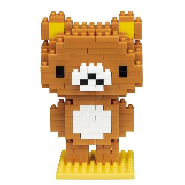 nanoblock 拉拉熊、懶熊妹 & 黃色小雞 ナノブロック リラックマ コリラックマ キイロイトリ