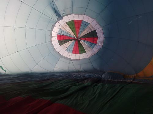 Volando en globo por el Jiloca