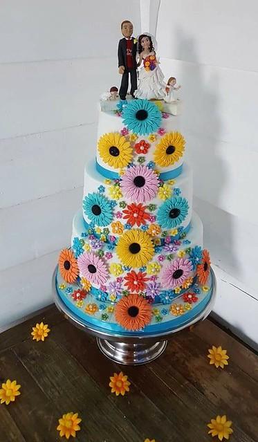Cake by Natalie Burnett of Pure Imagination Cake Designs