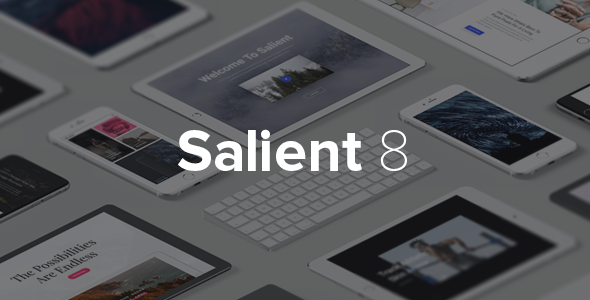 Salient v8.0.16 – Responsive Multi-Purpose Theme
