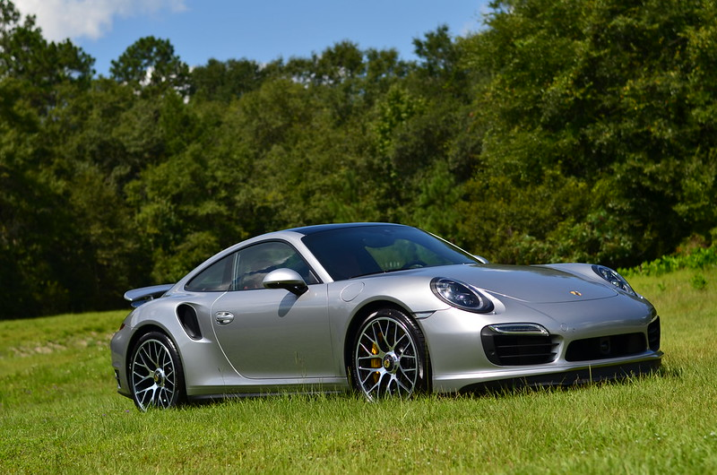 2016 911 Turbo S Coupe Gt Silver On Garnet Black Leather