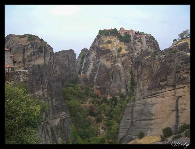 Grecia Kalambaka Meteora Termópilas Atenas - Monasterio de Meteora