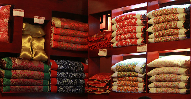 Fabrics, Jinli Street, Chengdu