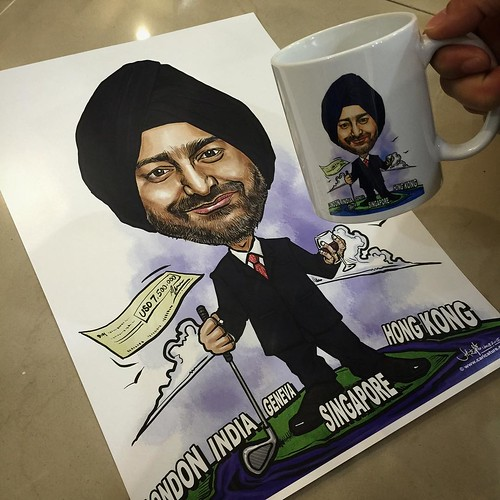 Printed out on Art Paper and mug......