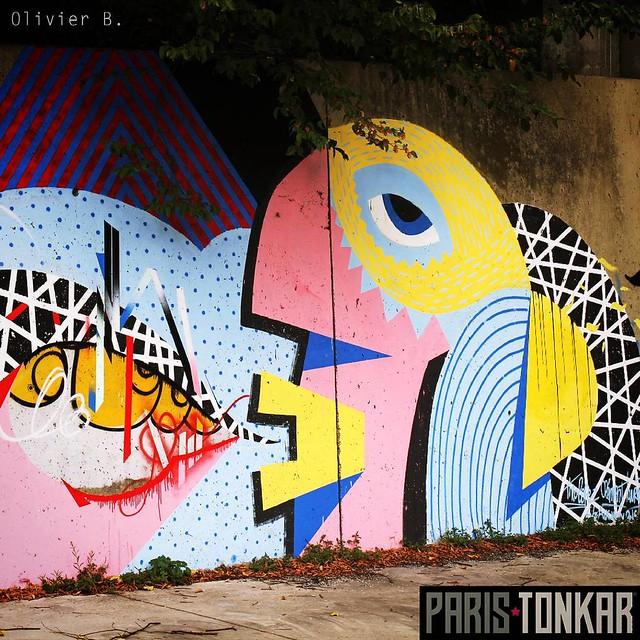 #parcoursaucwin #aucwin #saintdenis #streetart #graffiti #paristonkar #neuviemeconcept #9emeconcept