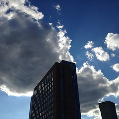 #cloudporn #clouds #igboston #skyline
