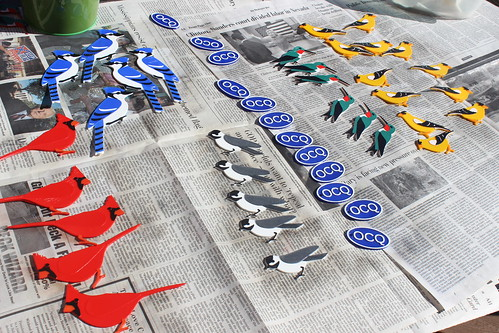 3D Printing - Birds - Post Procesing