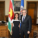 Secretary General Meets with Foreign Minister of Suriname