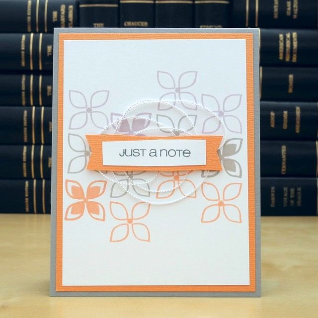 Just a Note by Jennifer Ingle #JustJingle #CASualFridaysStamps #Cards #BazzillBasics #SimonSaysStamp