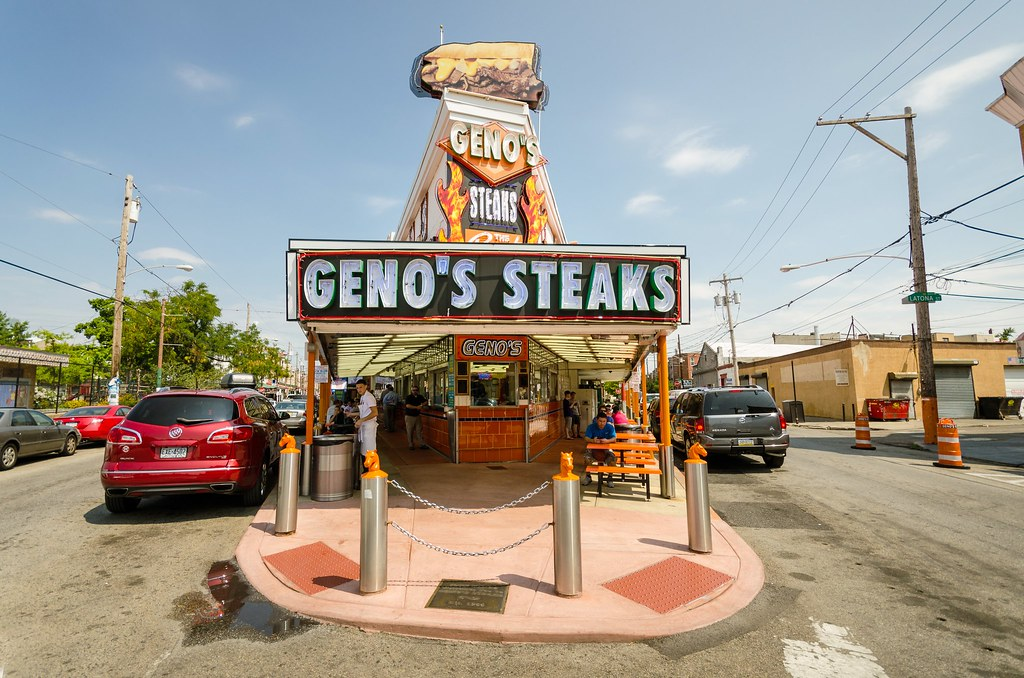 The Famous Geno's Steaks