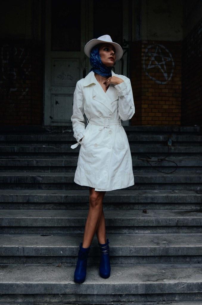 Leçon de style : Chapeau Blanche