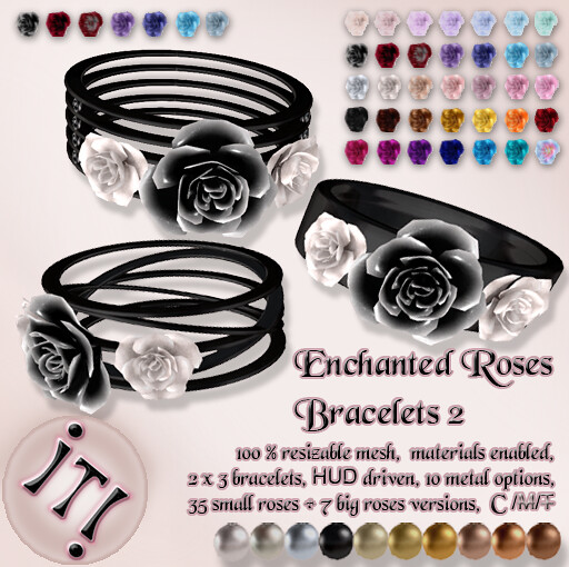!IT! - Enchanted Roses Bracelets 2 Image