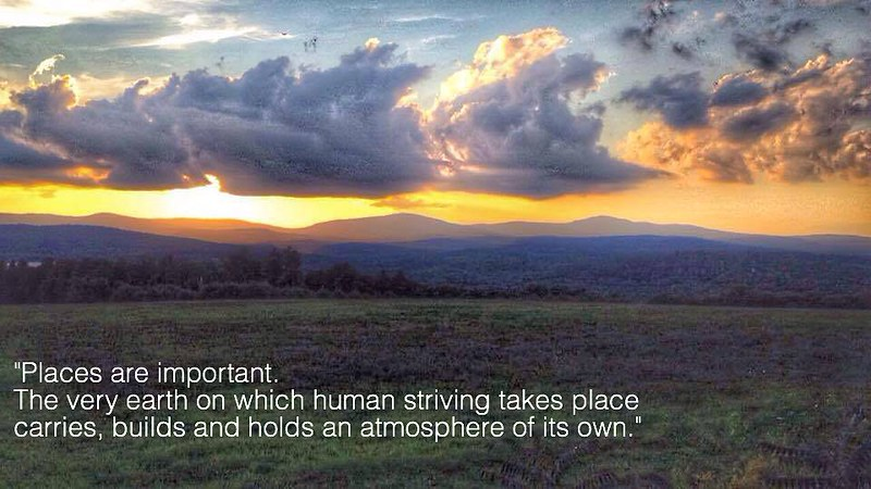 A #quote from our founder, Mrs. Emmet. #quotes #inspiration #sunset #clouds #nature #waldorfschool #boardingschool