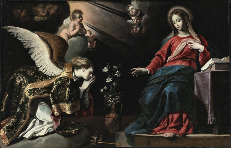 Gerard Seghers - The Annunciation