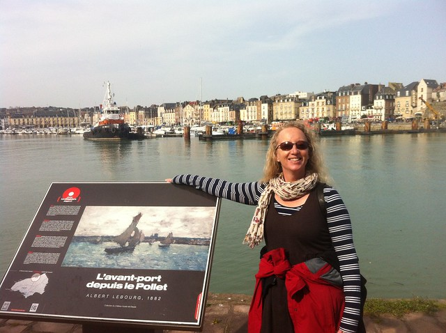 Dieppe harbour
