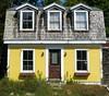 Neglected cottage: Stonington, Maine, USA
