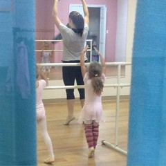 #danceclass #ballet #stripysocks #legwarmers
