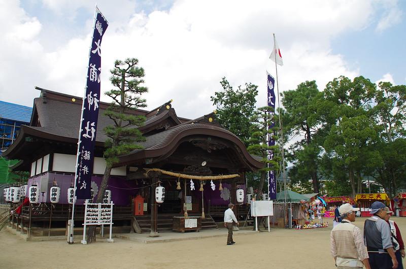 大浦神社(昼競馬) #1