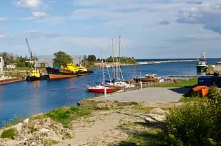 Latvian coast
