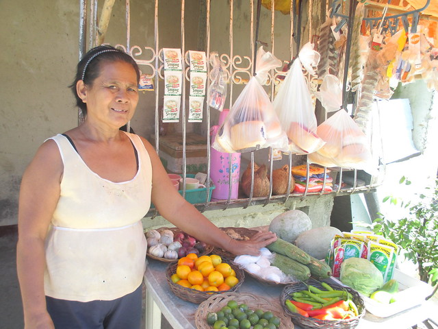 Lawa'an market vendor Elena G. Gayda