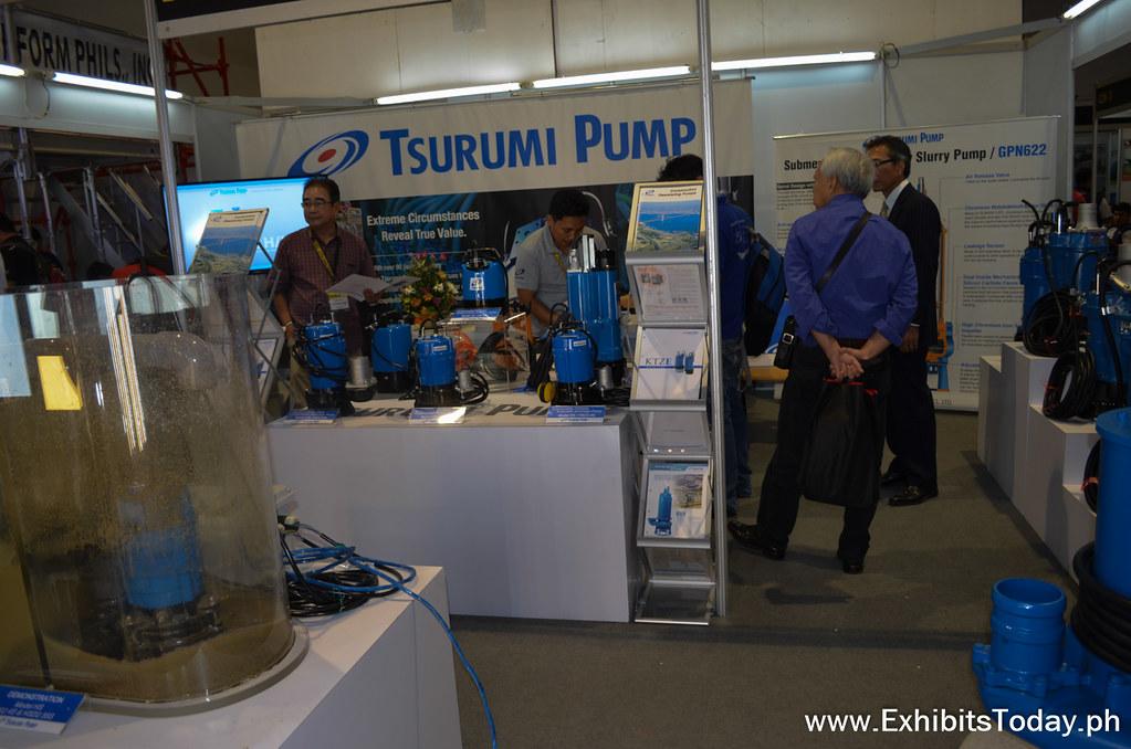 Tsurumi Exhibit Booth