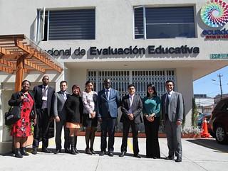 Delegaciones participantes de PISA-D visitan Ineval