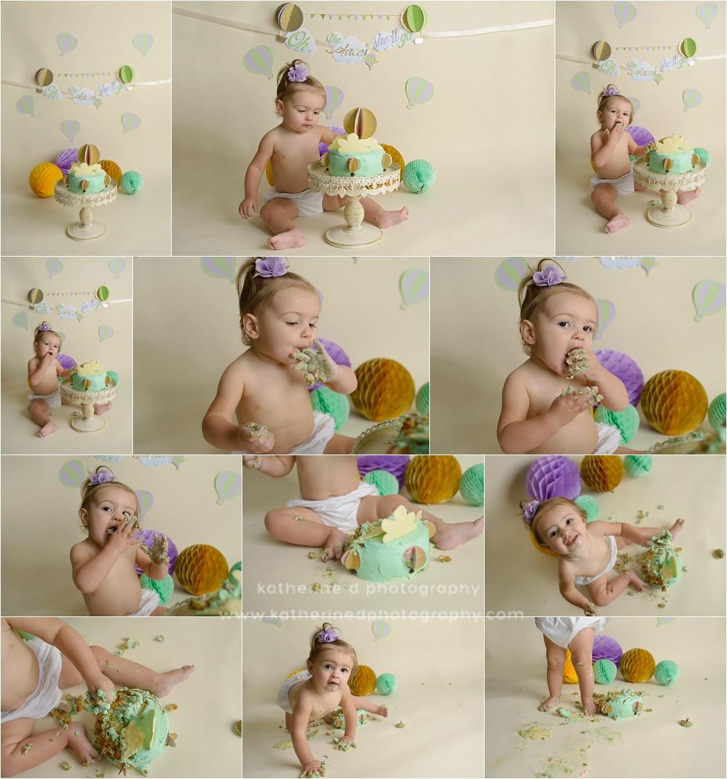 Fayetteville NC Cake Smash Photographer