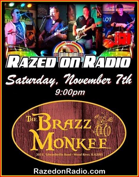 Razed on Radio 11-7-15