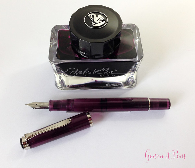 Review Pelikan M205 Classic Amethyst Fountain Pen @AppelboomLaren (13)