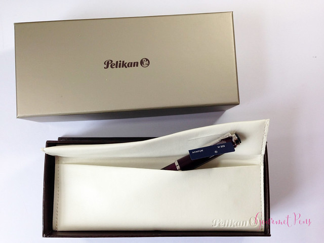 Review Pelikan M205 Classic Amethyst Fountain Pen @AppelboomLaren (1)