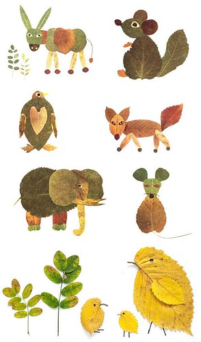 MSAM #23 Nature leaf animals