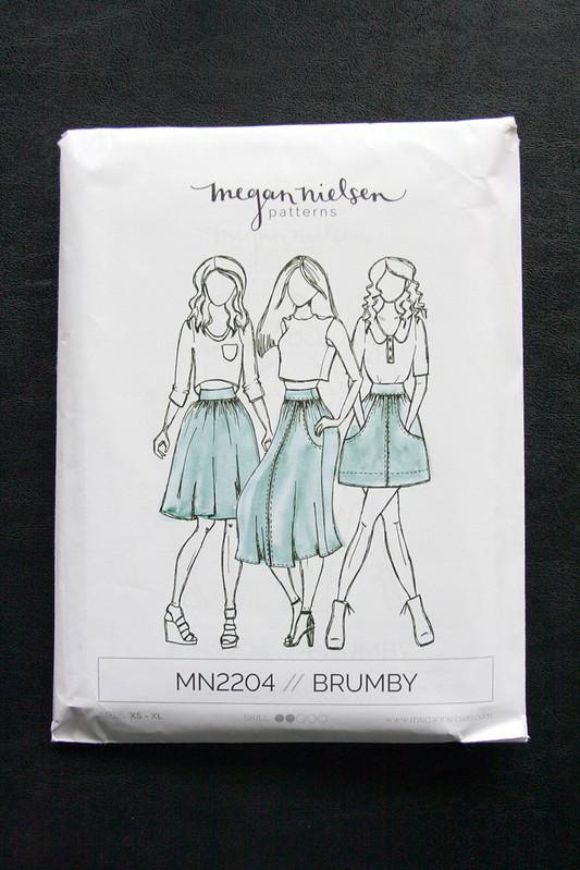 Brumby Skirt pattern by Megan Nielsen