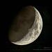 Quarter Moon in Noember by David Warlick