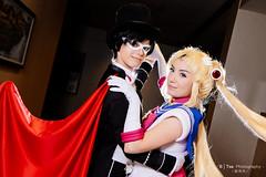 Tuxedo Mask (タキシード仮面) & Sailor Moon (美少女戦士セーラームーン)