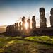 Easter Island - Ahu Tongariki by Alejandro Pérez