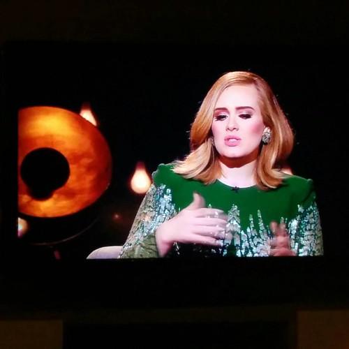 Thank you so much #bbc voor het uurtje Adele. 💞🎵 #biggestfan #adele