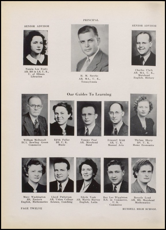Greenup County Public Libraries 1942 Russell High School Yearbook