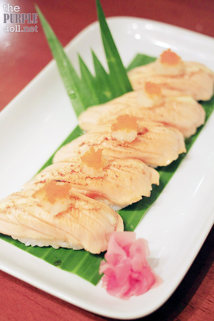 Plates - Salmon Nigiri Sushi