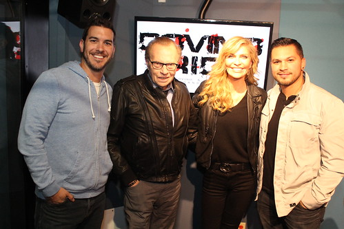 Larry King & wife Shawn King on the Covino & Rich Show