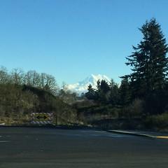 Mt Rainier From Yelm, WA