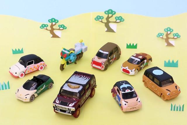 日本童話變身火柴盒小汽車!TOMICA 日本的童話故事 トミカむかしばなし