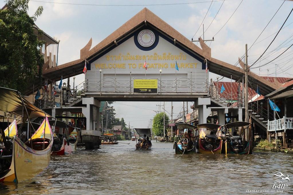 泰國曼谷-水上市場+美功鐵道市集+河濱夜市-44