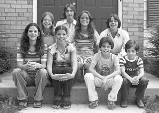 Metzler Family, Reston, VA. September, 1977.
