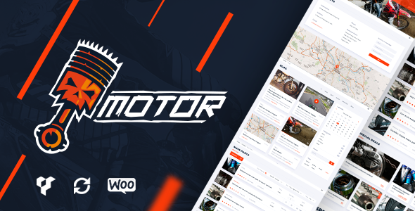 Motor v1.1.0 - Vehicles, Parts, Equipments and Accessories WooCommerce Store