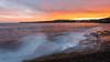 Sydney coastal sunset by Conversation16
