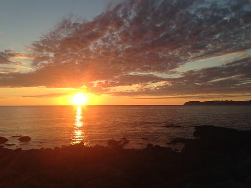 rishiri-island-hurusato-syokudo-sunset